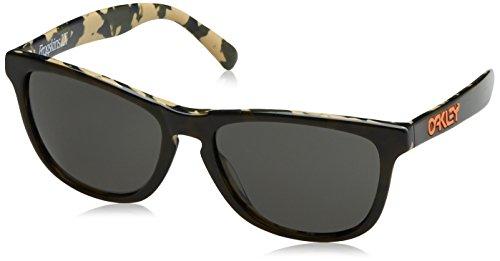 Oakley Herren Global Frogskin Lx 204313 56 Sonnenbrille, Schwarz (Night Camo/Grey),