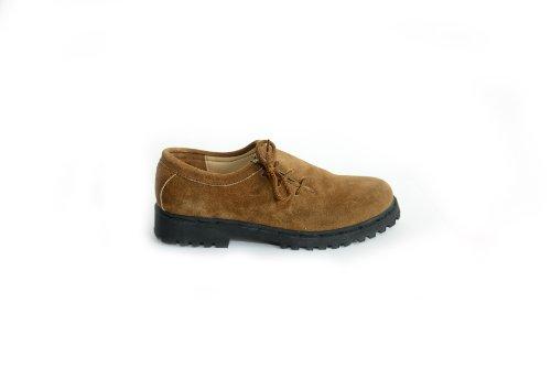 trachtenhandel , Chaussures de ville à lacets pour homme Marron - Marron