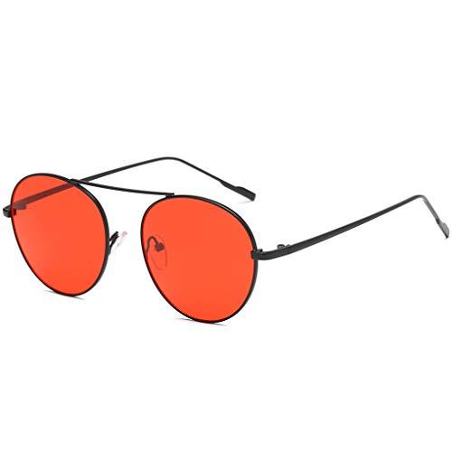 Masterein Frauen Metall Full Frame Sonnenbrillen Harzlinse UV-Schutz im Freien Eyewear Anti UV-Strahlen Sun Glasses