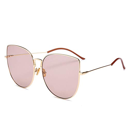 LXC Fashion Sonnenbrillen, 2019 Sonnenbrille weibliche Side Wings Retro Flat Mirror Jelly Farbe Persönlichkeit Brille Männer Treiben Gläser,d
