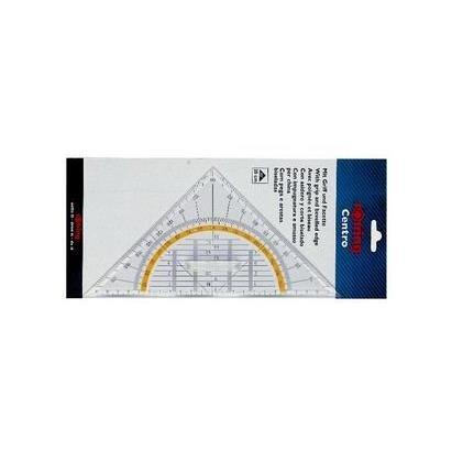rOtring Centro-Geometrie-Dreieck mit Griff (groß, 23cm) (Rubbermaid Groß)