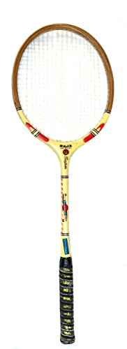 Protoner SPO26 Wood Ball Badminton Racquet, Adult G3-3 1/2-inch