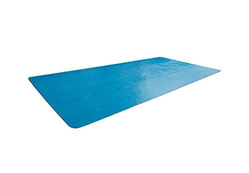 Intex Solar Pool Schwimmbad Abdeckplane für Frame Pools 488x244cm
