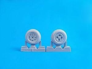 CMK q32275-Accesorios de construcción Tempest MK.II/v/Vi-Square Tread Pattern mainwheels F. spacial Hobby