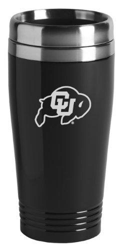 Universität von Colorado Boulder-473ml Reise Becher Zahnputzbecher-Schwarz -