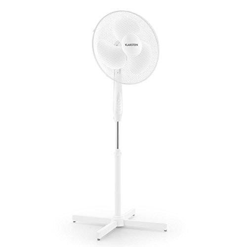 Standventilator Ventilator VOV Raum-Lüfter energieeffizienter 3-Flügel Durchmesser ca. 40 cm 50 W weiß
