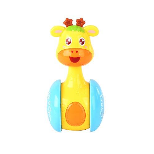 De dibujos animados de la jirafa del vaso de la muñeca de...