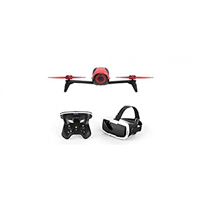 Bebop 2 Quadcopter Drone with Skycontroller 2 & Cockpit FPV Glasses