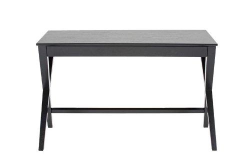 ABC home Lampentisch skandinavischer Stil Schreibtisch, schwarz -