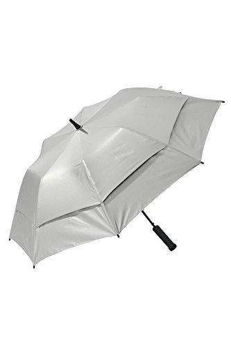 Coolibar UPF 50+ UV Parapluie Taille Unique Golf Silver