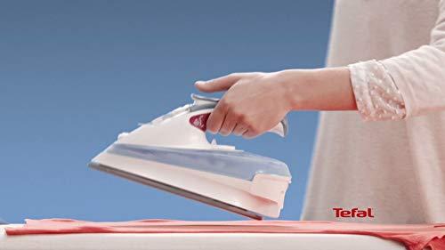 Tefal Freemove FV9976E0 - Plancha (Plancha a vapor, AutoClean soleplate, 1,8 m, 200 g/min, Rojo, Blanco, 40 g/min)