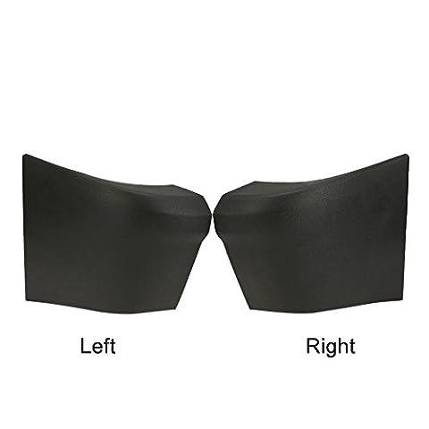 KKMOON Rear Bumper Tow Towing Eye Cover Cap Bumper Corner End Cap With Clip