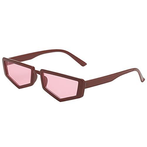 Dtuta Brillenetuis Metall Sonnenbrille MäNner Und Frauen PersöNlichkeit UnregelmäßIgen Brillengestell Trend Punk Wind Brillengestell Dekoration Tragen Passende StüCke
