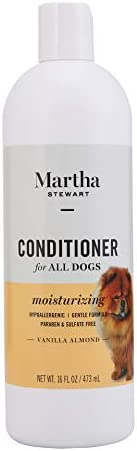 Martha Stewart Itch Relief Conditioner for Dogs | Natural Puppy and Dog Conditioner For Dry Itchy Skin, 16 Oun