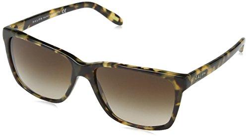 Ralph Lauren Purple Label Damen RA5141 Sonnenbrille, Braun (Variegated Tortoise 905/13), One size (Herstellergröße: 57)