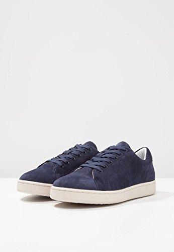 Guess Sneaker Herren Allan Leather Navy Blau