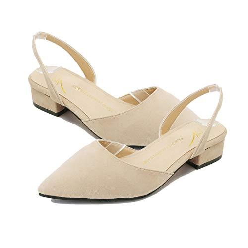 wholesale dealer 3202e a05d3 Scarpe alla Punta delle Donne alla Moda Tacco Piatto Sandali ...