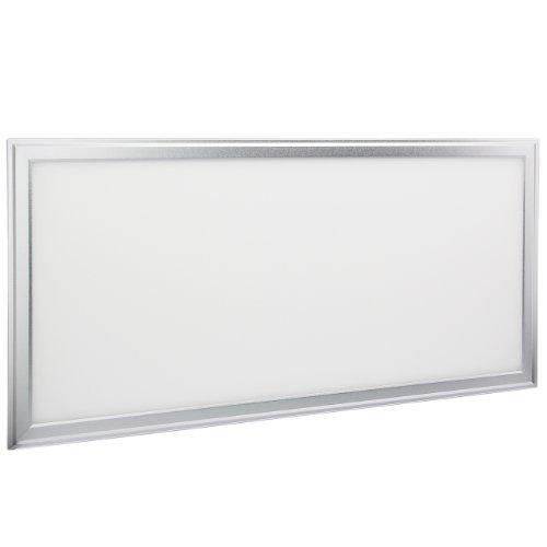 #Yorbay LED Panel Deckenleuchte Pendelleuchte Wandleuchte verschiedene Größe mit Befestigungsmaterial und LED Treiber/Trafo[Energieklasse A] (Warmweiß 60x30cm 18W)#