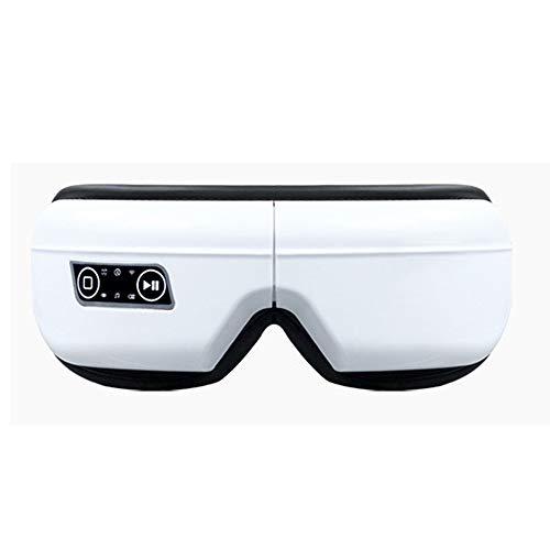Maschera elettrica per massaggiatore oculare musica mal di testa antistress macchina pieghevole per occhi rilassarsi con 5 modalità pressione dell'aria compressione del calore massaggio vibrante