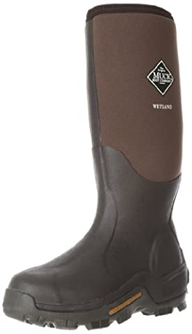 Muck Boots Mens Wetland High Breathable Reinforced Wellington Boot, brown, UK Size 9 (EU 43, US 10)