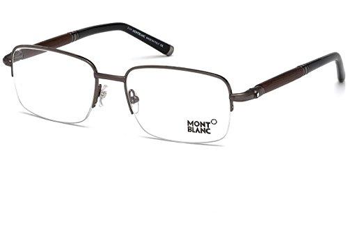 Montblanc Brillen Für Mann 0534 008, Shiny Gunmetal Metallgestell