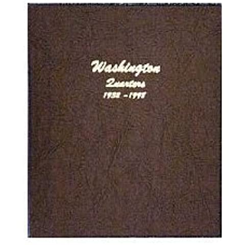 Dansco Coin Album #7140 for Washington Quarters: 1932-1998 by Dansco