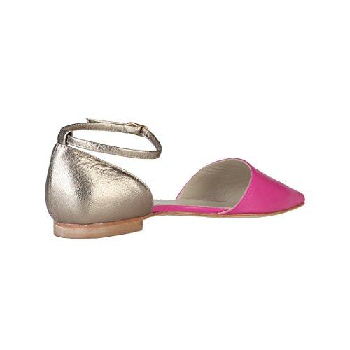 sandali scarpe V 1969 9130_JULY_LAMINATO_BRONZO Rosa Rose