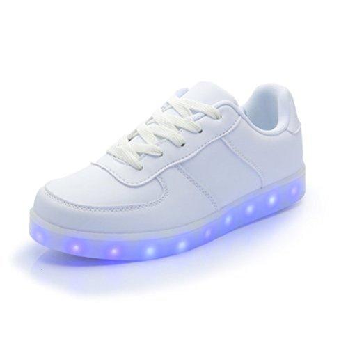 Unissex Alta De Esperado Desportivo Sneakers Para Conveniências Pequena Junglest® Led Superiores Esportivos Carregamento Usb Calçados Toalha C23 Cores Brilhante 7 Tênis present De Calçado ZgBqww