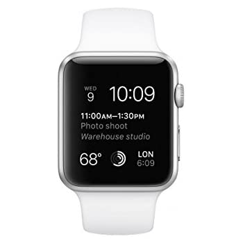 161c3712b Sports Armband for Apple MJ3 N2FD/A for Apple Watch (42 mm) Sliber