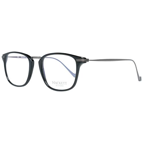 Hackett London Herren HEB1720151 Brillengestelle, Schwarz (Negro), 51.0