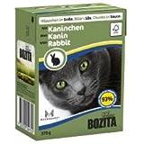 Wet Cat Food - Bozita Chunks In Sauce With Rabbit 370g - Bulk Pack of 16