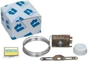 Thermostat K59-H2805 Ranco VI112 Ranco Servicekühlthermostat, für 2- sowie 3-Sterne-Kühlschränke mit automatischer Abtauung - Kapillarrohr-thermostat