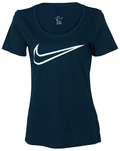 NIKE Women's Dry Training Scoop Tee - Dri Fit Shirt Womens Nike