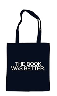 The Book Was Better Bag Black
