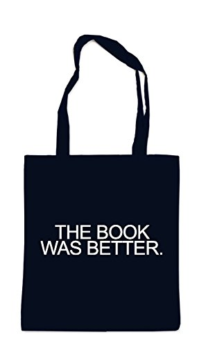 Preisvergleich Produktbild The Book Was Better Bag Black