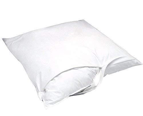 Softsan Kissenbezug milbendicht 60 x 60 cm, Encasing Milbenschutz für Hausstauballergiker -