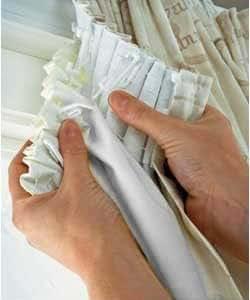 Rejuvopedic Doublure de rideau thermique Tissu occultant et revêtement réfléchissant 20 crochets à rideau fournis 168 x 137 cm