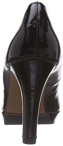 s.Oliver 22400, Escarpins femme Noir - Schwarz (BLACK PATENT 018)