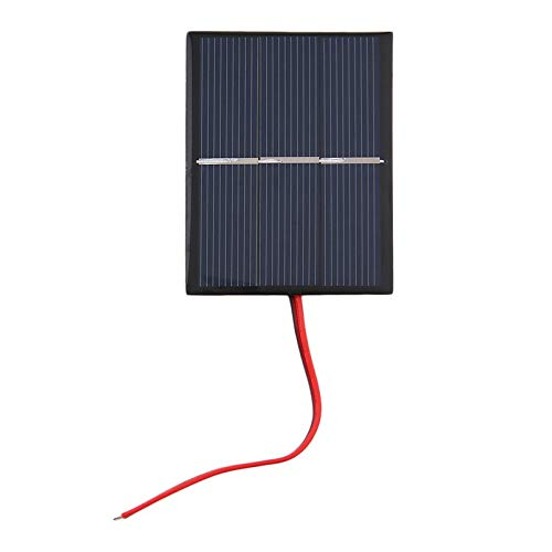 Silverdial 0.65W 1.5V 300mA polykristalline Silikon-Sonnenkollektor-Mini- Solarzellen-Ladegerät-Platten-DIY Solarzellen mit Draht-Kabel