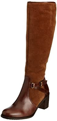 Gabor Womens Gusto Dark Brown/Mid Brown Boots 75.788.14 7.5 UK, 40 EU