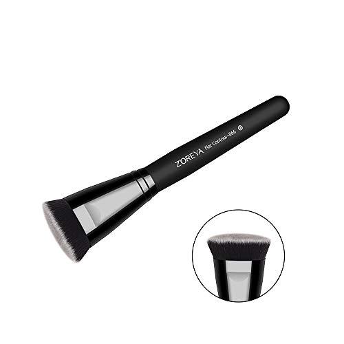 DDOQ Loose Face Brush Frauen Puderpinsel Fashion Make-up Tool Kit (schwarz)