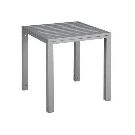 Table d'appoint Cubic aluminium mho1032022 GRIS 1032