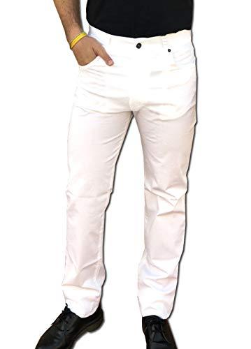 704a753e4a CAMICIE & dintorni Pantalón Holiday Jeans (Leggero/Verano) Hombre Algodón  Talla 46 48 50 52 54 56 58 60 Fabricado en Italia Elásticos Comfort ...