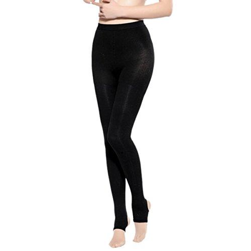 Aivtalk Medias sin Pies Mujer Legging Pantalones Compesión