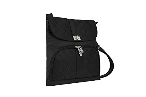 Travelon, Borsa a tracolla donna, Champagne (Beige) - 42769-770 Black