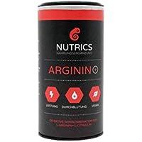 Nutrics Arginin + | Mehr Leistung | 100% Vegan | 120 Kapseln | Workout-Booster hergestellt in Deutschland preisvergleich bei fajdalomcsillapitas.eu