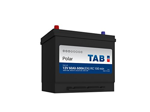 TAB Batterie Voitures Polar S Démarrage S60JX D23R 12 V 60AH 500 AMPS (en)