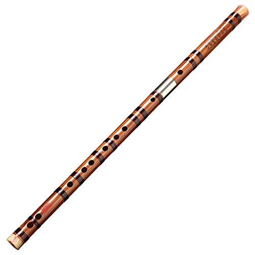 LIAN Flauta, Flauta de bambú Amargo Flauta de Instrumento Profesional Principiante Antiguo Chino Musical Dizi Clarinete (Color : E)