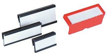 12 X Reiter (Rote Liste AG-Liste Kennzeichnung für das Material Partition 20Reiter Registerkarten, für Kassen von 47x 12mm Verwendung)