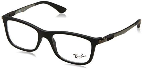 Ray-Ban Unisex-Kinder 0ry 1549 3633 48 Brillengestell, Schwarz (Matte Black)